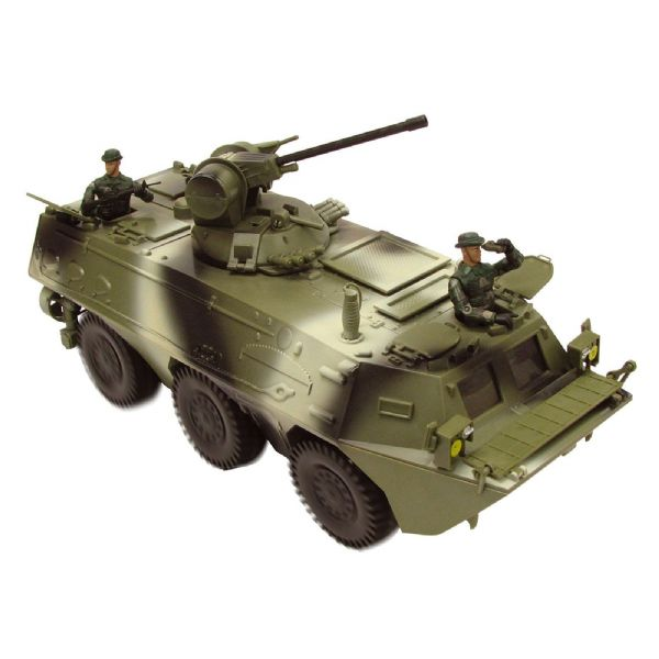 World Peacekeepers Miltary Infantry Fighting Vehicle Army Toy + 2 Figures 3+ Yrs